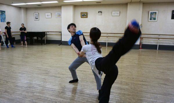 『コンテンポラリーダンス・トリプルビル』リハーサル